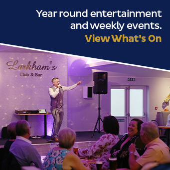 Year round entertainment and weekly events. View What's On.