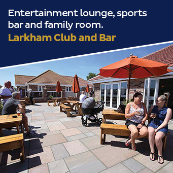 Entertainment lounge, sports bar and family room. Larkham Club and Bar.